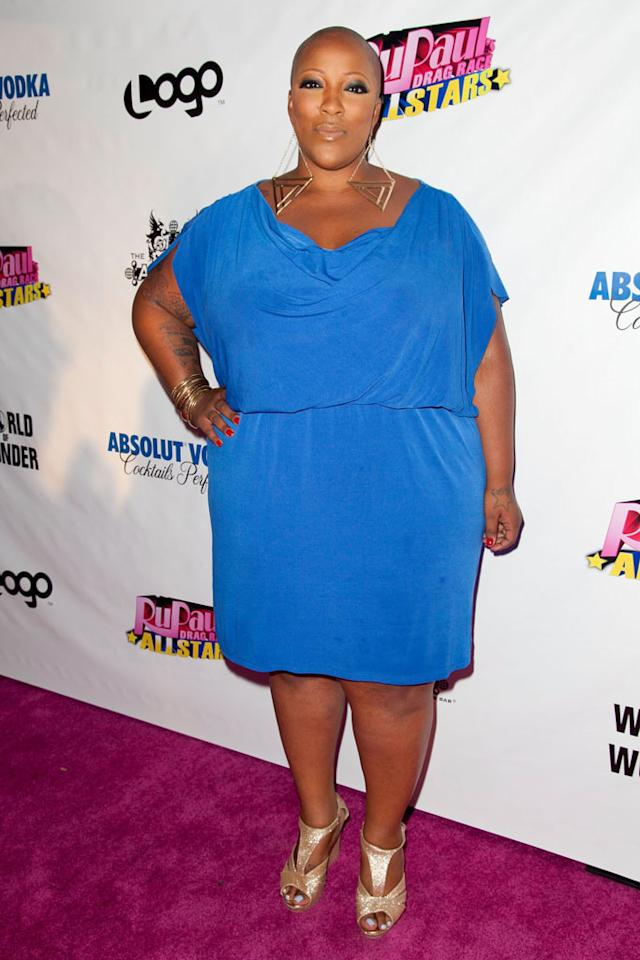 """Frenchie Davis arrives at the """"RuPaul's Drag Race: All Stars"""" Premiere Party at The Abbey on October 16, 2012 in West Hollywood, California."""