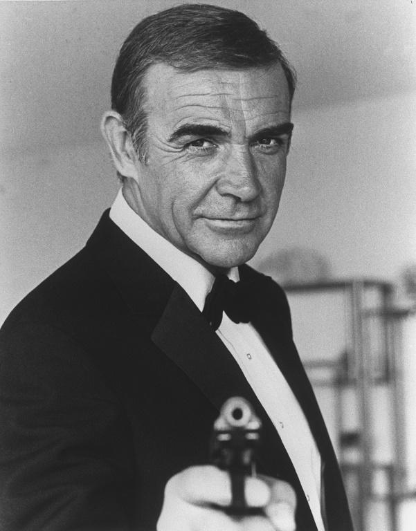 """The first actor to utter the unforgettable """"Bond, James Bond"""", Connery made six official films as novelist Ian Fleming's creation."""