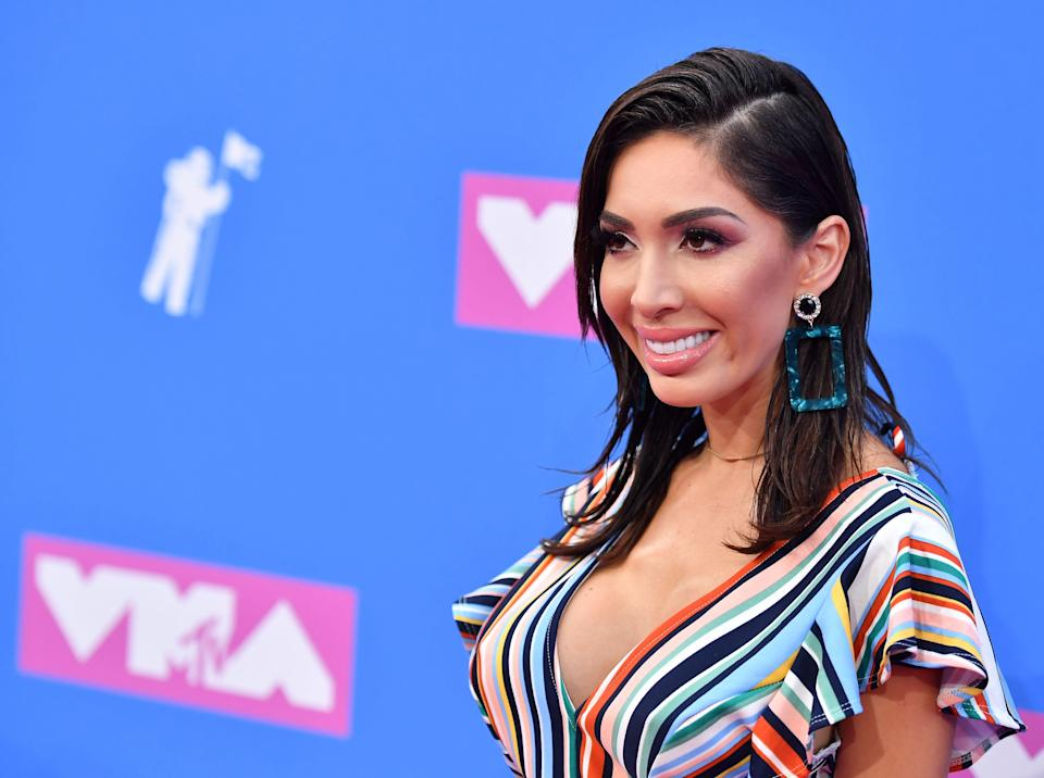 Former <em>Teen Mom</em> star Farrah Abraham is reportedly charging $5,000 for sex advice. (Photo: Getty Images)