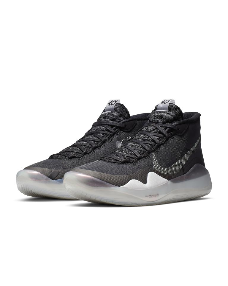 """<p><strong>Nike</strong></p><p>nike.com</p><p><strong>$150.00</strong></p><p><a href=""""https://go.redirectingat.com?id=74968X1596630&url=https%3A%2F%2Fwww.nike.com%2Ft%2Fzoom-kd12-basketball-shoe-5p4zNz&sref=http%3A%2F%2Fwww.menshealth.com%2Ffitness%2Fg26328412%2Fbest-basketball-shoes%2F"""" target=""""_blank"""">Shop Now</a></p><p>Durant's latest signature shoe is a serious redesign from previous iterations, and the results are terrific, especially if your on-court game involves post-ups and quick spins. The KD12s lose their rigid feel from the last few years, thanks to a full-length</p><p> Zoom Turbo bag in the sole, delivering a cushiony feel, as well as greater comfort through the midfoot and upper foot. The best part: It's available in almost any retailer.<strong><em>-Eb </em></strong></p>"""