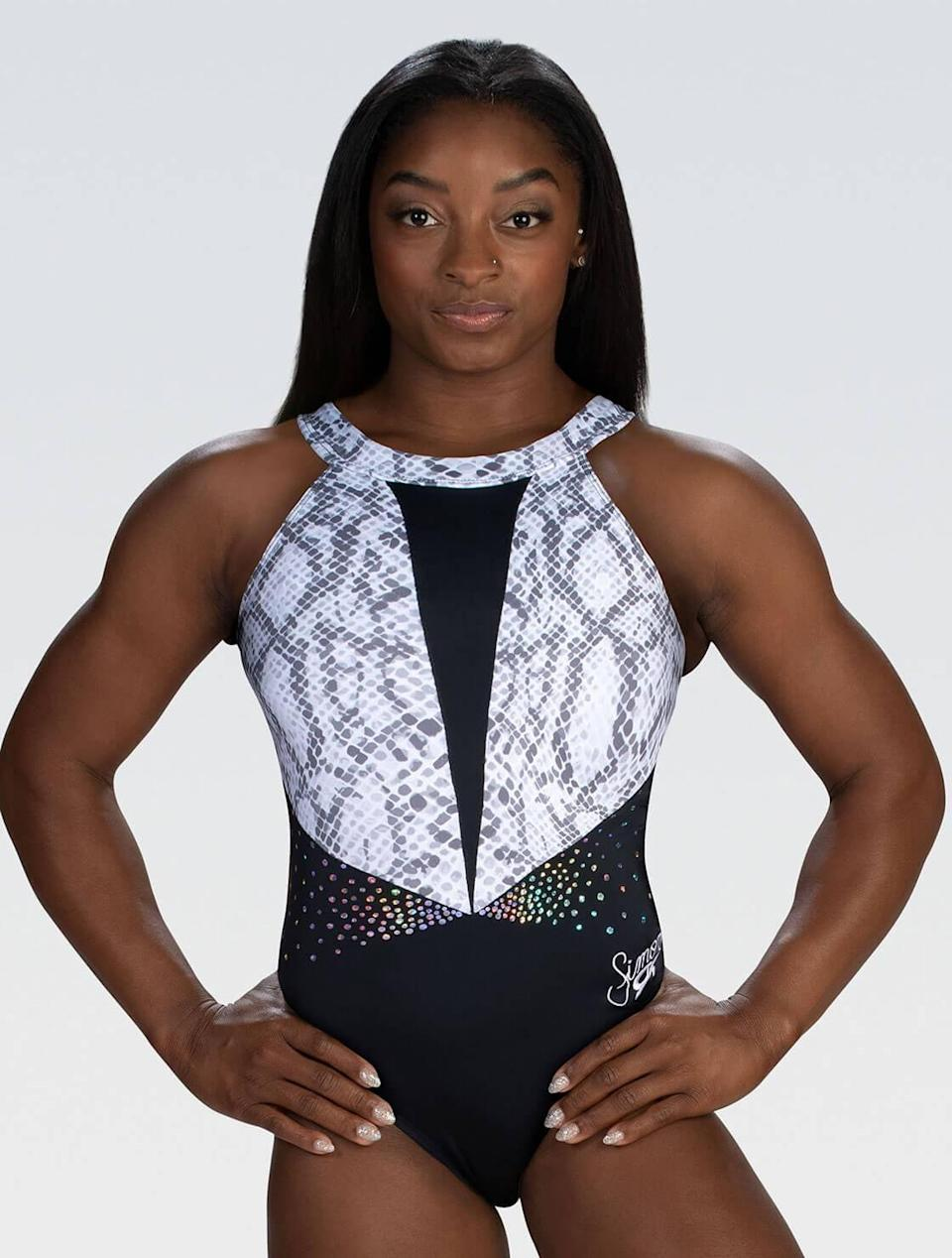 <p>Check out another <span>GK Elite Championships Replica Workout Leotard</span> ($80) inspired by Biles's goat leotard on night two of Championships.</p>
