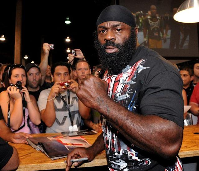 Kimbo Slice, former UFC and Bellator fighter, died June 6, 2016. (Getty)