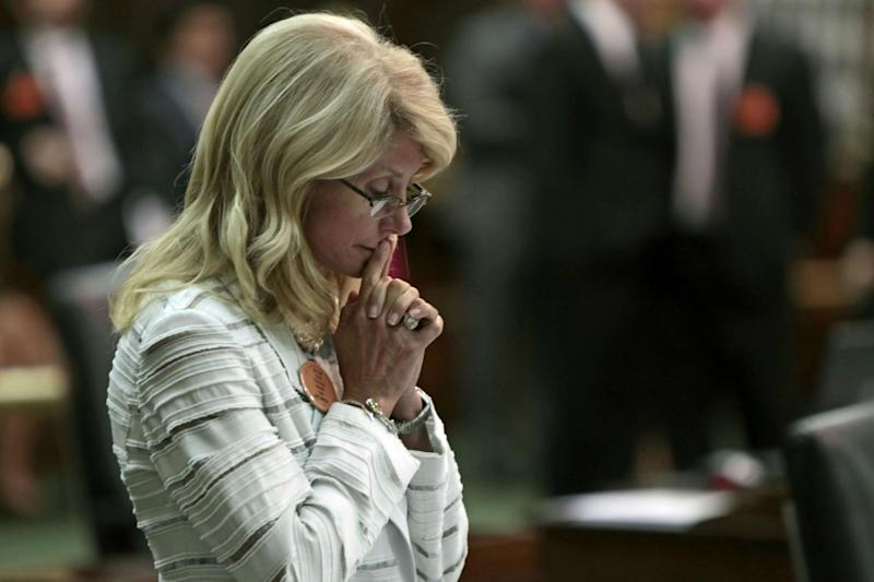 Wendy Davis spoke for 11 hours without taking a break. There is now talk of a movie: Getty