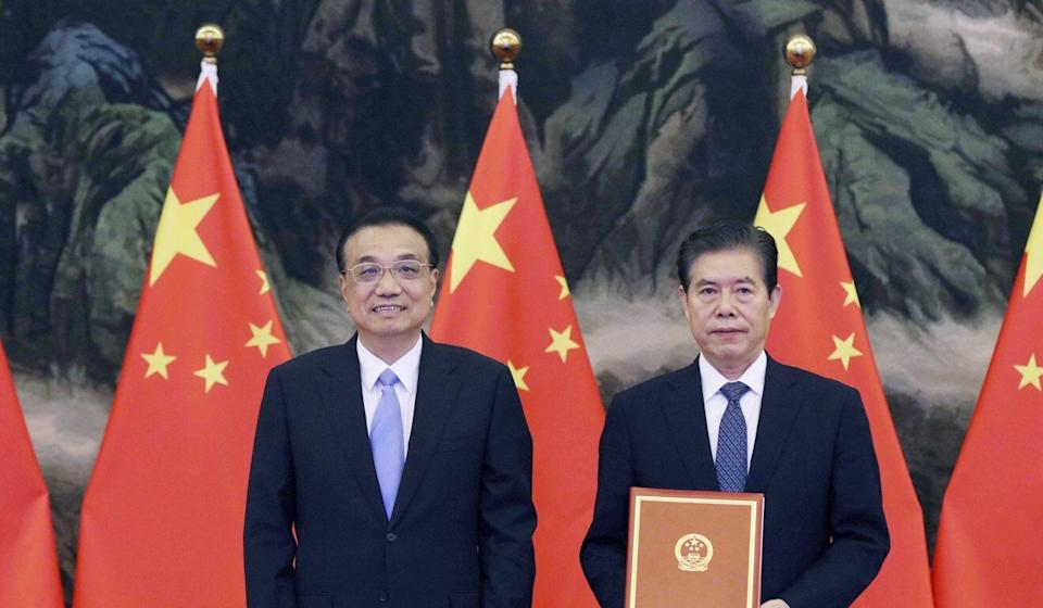 Chinese Premier Li Keqiang told Asean that the bloc had passed the EU to become China's biggest trade partner this year. Photo: Xinhua