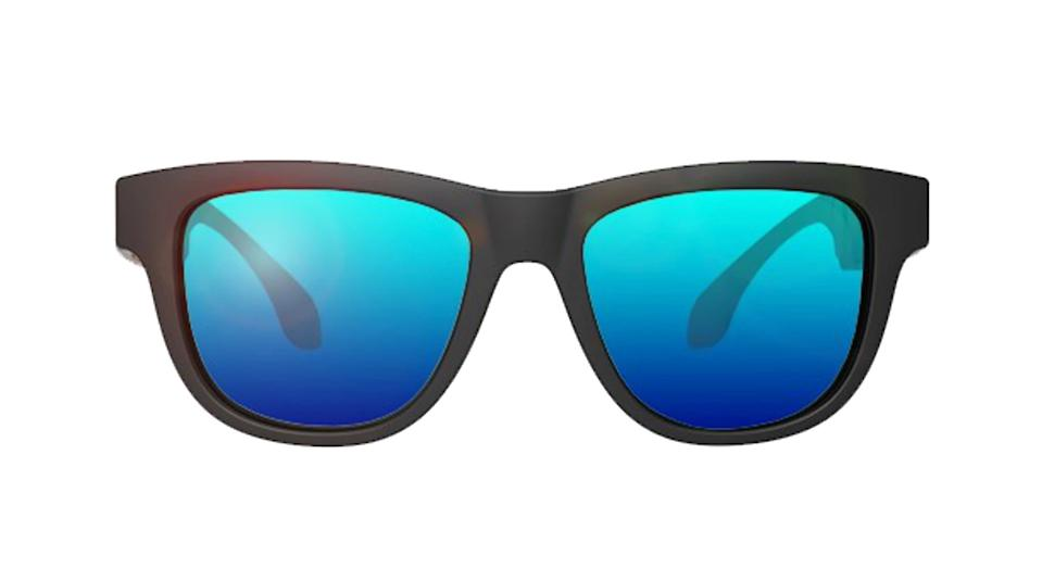 """Fans of Mission Impossible rejoice - these super cool Smart Tech mirror tinted sunglasses connect to your phone via bluetooth, allowing users to answer and make calls, get GPS navigation as well as listen to music and access apps via Siri. Super cool. <a href=""""https://fifthandblue.com/collections/women/products/voice-enabled-smart-sunglasses"""" rel=""""nofollow noopener"""" target=""""_blank"""" data-ylk=""""slk:Shop now"""" class=""""link rapid-noclick-resp""""><strong>Shop now</strong></a><strong>.</strong>"""