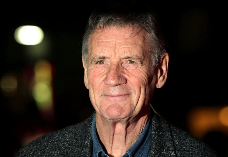 File photo dated 16/10/2012 of Broadcaster Michael Palin dismissed a suggestion today that a film producer was a seventh member of the Monty Python comedy team.