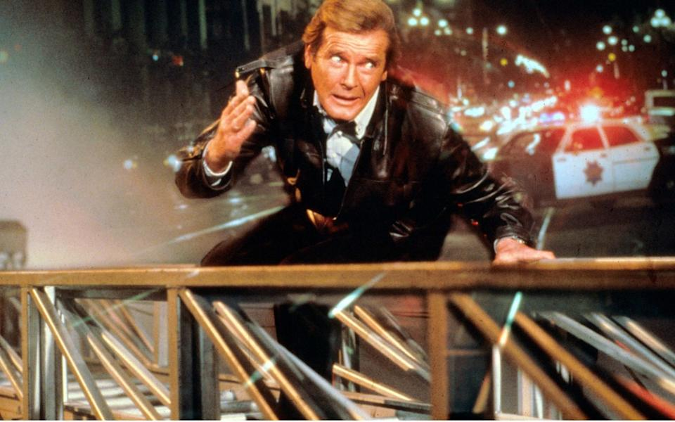 Roger Moore in A View To A Kill - Rex