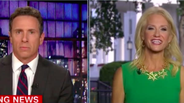 Kellyanne Conway Blasts Chris Cuomo For Harvey Climate Change Question