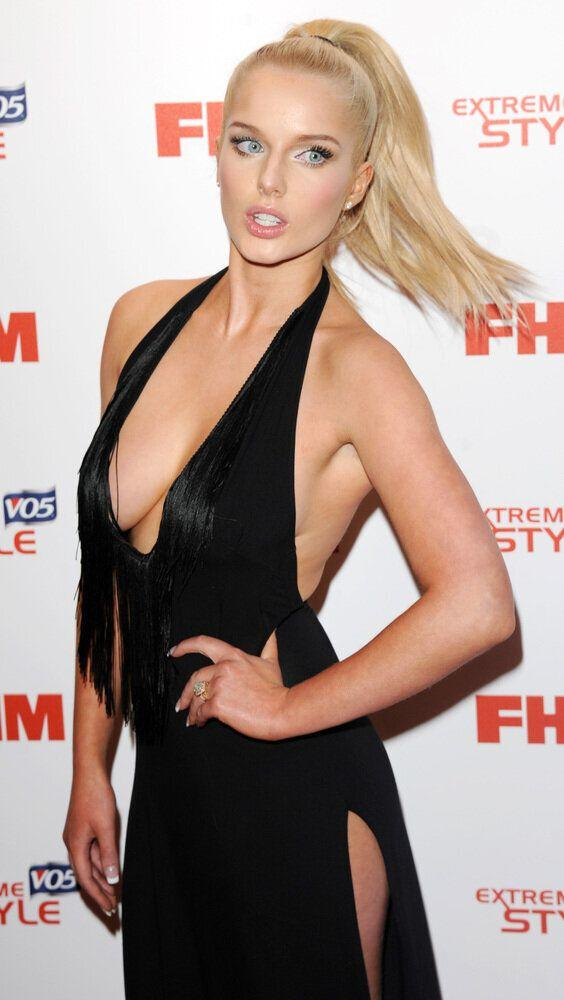 LONDON, UNITED KINGDOM - MAY 01: Helen Flanagan attends the FHM 100 Sexiest Women In The World 2013 Launch Party at Sanderson Hotel on May 1, 2013 in London, England. (Photo by Stuart C. Wilson/Getty Images)