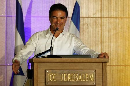 Mossad director Joseph (Yossi) Cohen addresses a budgeting conference hosted by Israel's Finance Ministry in Jerusalem