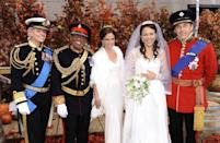 "<p>In honor of <a href=""https://www.goodhousekeeping.com/life/g20745501/prince-harry-and-meghan-markles-wedding-compared-will-and-kates/"" rel=""nofollow noopener"" target=""_blank"" data-ylk=""slk:Prince William and Kate Middleton's big day"" class=""link rapid-noclick-resp"">Prince William and Kate Middleton's big day</a>, the <em>Today</em> crew had a regal theme in 2011. Savannah played the part of Prince Philip, Al was Prince Harry, Natalie took on Pippa, and Ann Curry stunned as the Duchess of Cambridge. What's more, the entire<em> Today</em> crew even recreated the nuptials during the show that year. And you thought<em> you</em> were <a href=""https://www.goodhousekeeping.com/royal-family/"" rel=""nofollow noopener"" target=""_blank"" data-ylk=""slk:obsessed with the royals"" class=""link rapid-noclick-resp"">obsessed with the royals</a>! </p>"