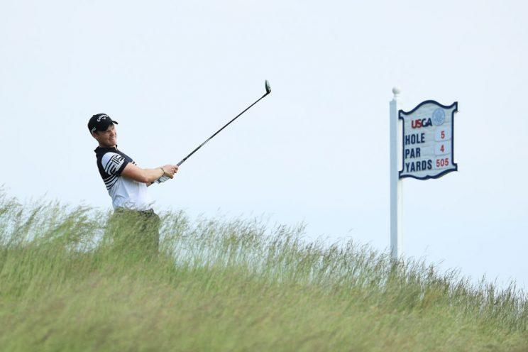 Danny Willett's time at the U.S. Open is done. (Getty)
