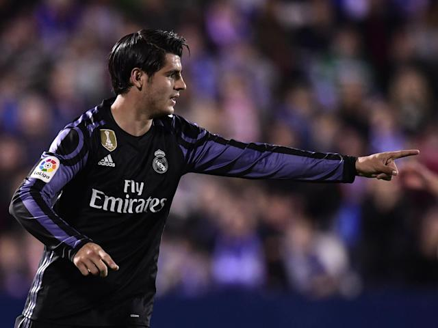 Morata is expected to leave Real Madrid in the summer: Getty