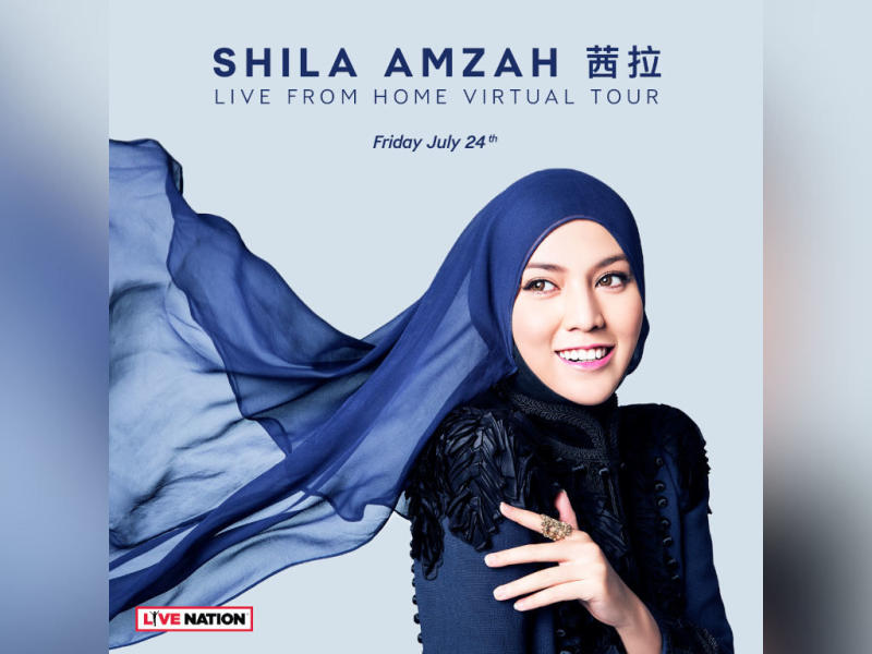 Shila Amzah is performing right from her home tomorrow!