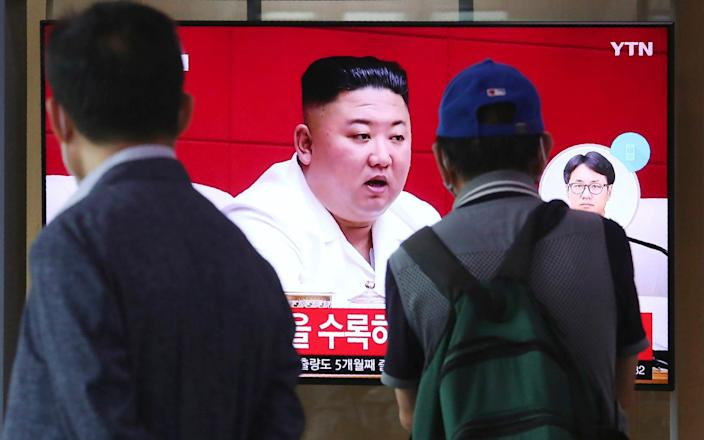 Kim Jong-un has issued an incredibly rare, personal apology to South Korea over the incident - Ahn Young-joon/AP