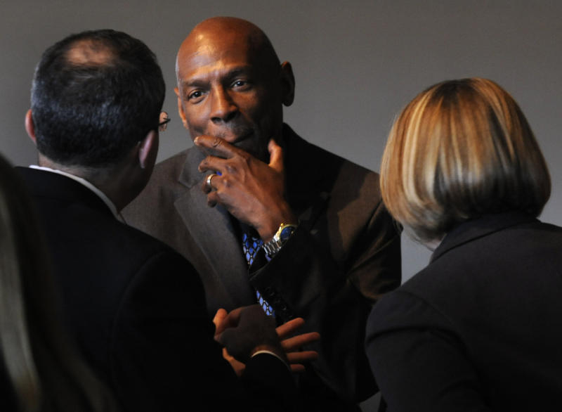 Education activist Geoffrey Canada and the Harlem Children's Zone, where he serves as President and CEO, have become a national model in education. The Denver Metro Chamber of Commerce co-hosts a luncheon with the United States Chamber of Commerce, with Canada as a keynote speaker joined by former U.S. Education Secretary Margaret Spellings. Kathryn Scott Osler, The Denver Post (Photo By Kathryn Scott Osler/The Denver Post via Getty Images)