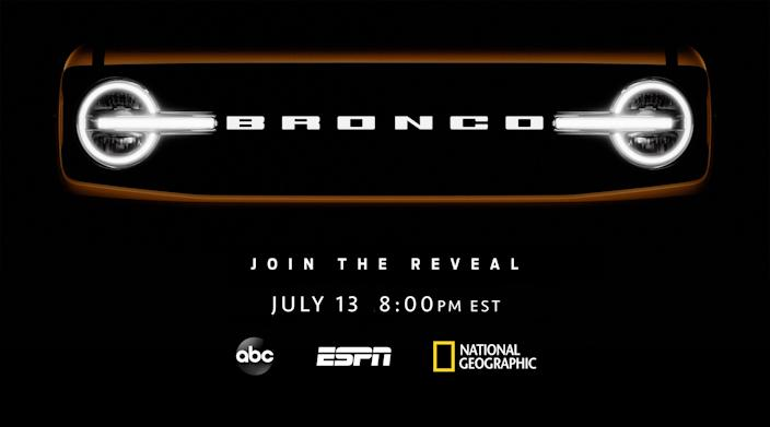 The new Ford Bronco, coming to Disney channels.