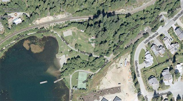 A personal item belonging to the Australian was found at Alpha Lake Park. Source: Google Maps