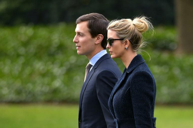 Documents show Jared Kushner and his wife Ivanka Trump, both close advisers to the president, are still getting income from holdings valued at between $240mn and $740mn