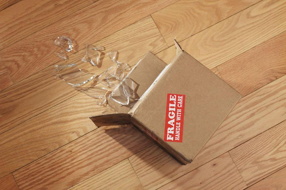 <p>Amazon does a good job packaging its items, but with products traveling across the country, it's inevitable that things will break. While the company will often replace damaged items, it's probably easier to look local first.</p>