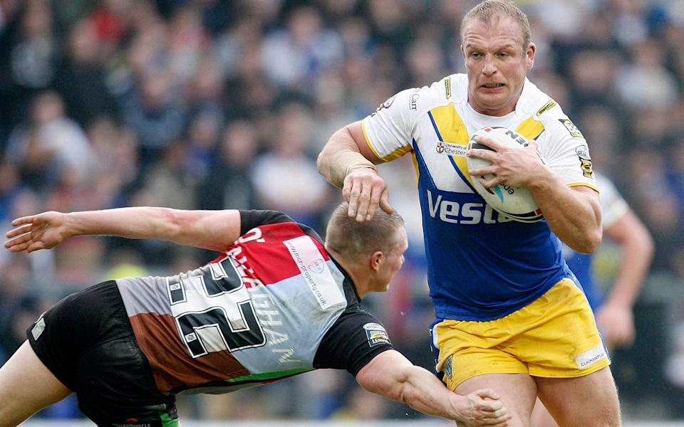 Garreth Carvell (right) is a former Warrington Wolves, Hull and Great Britain forward - ACTION IMAGES