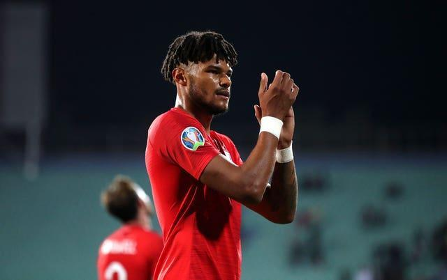Tyrone Mings made his England debut in Bulgaria in October 2019, when players were subjected to racist abuse