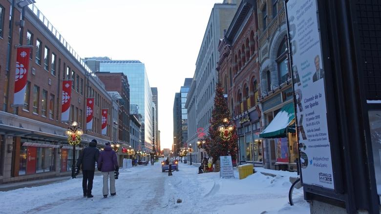 City launches campaign to revitalize Sparks Street