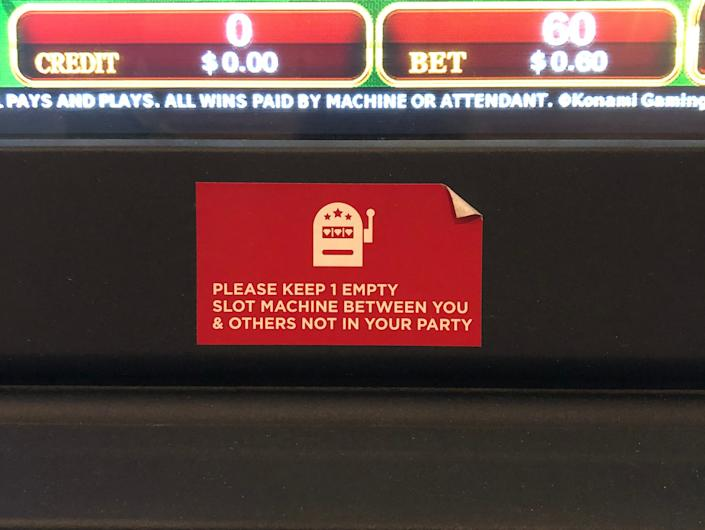 Slot Machine Distancing