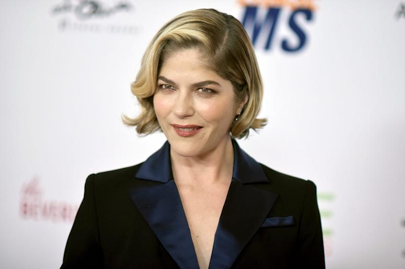 Selma Blair shows off shaved head in emotional post about multiple sclerosis treatment