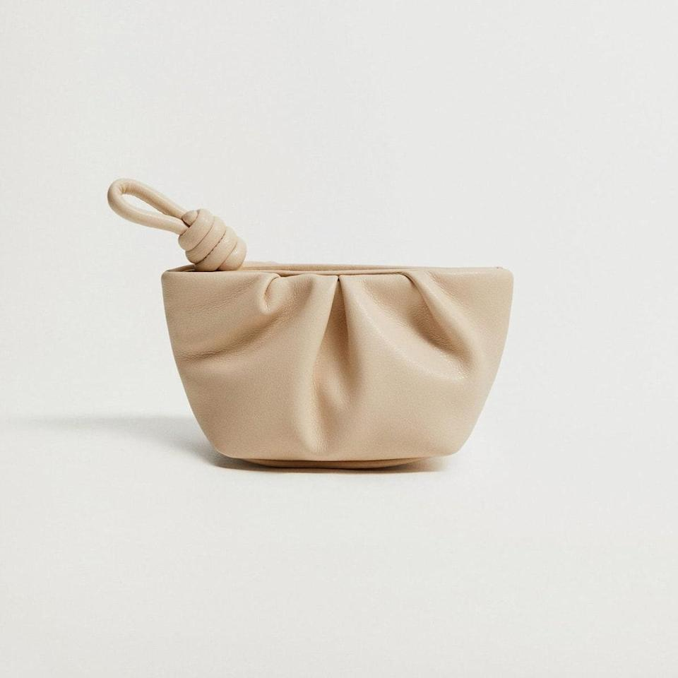 """This $16 coin purse is the perfect home for your usual lineup of credit cards and change, but it's still cute enough to serve as a small stand-alone clutch all on its own. $16, Mango. <a href=""""https://shop.mango.com/us/women/wallets-and-cases-wallets-and-purses/quilted-coin-purse_87092016.html"""" rel=""""nofollow noopener"""" target=""""_blank"""" data-ylk=""""slk:Get it now!"""" class=""""link rapid-noclick-resp"""">Get it now!</a>"""