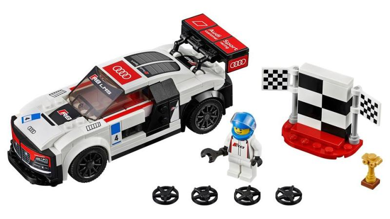 Lego teams up with Audi to release miniature racers for both