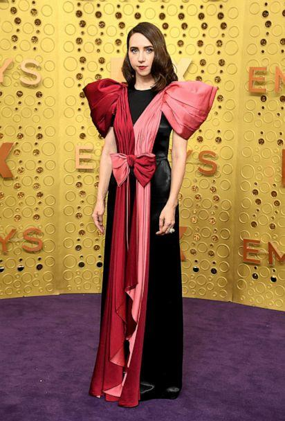 PHOTO:Zoe Kazan attends the 71st Emmy Awards at Microsoft Theater on September 22, 2019 in Los Angeles, California. (Jeff Kravitz/FilmMagic/Getty Images)