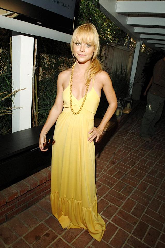 """Taryn Manning is a ray of sunshine in her lovely yellow frock. Amy Graves/<a href=""""http://www.wireimage.com"""" target=""""new"""">WireImage.com</a> - July 14, 2007"""