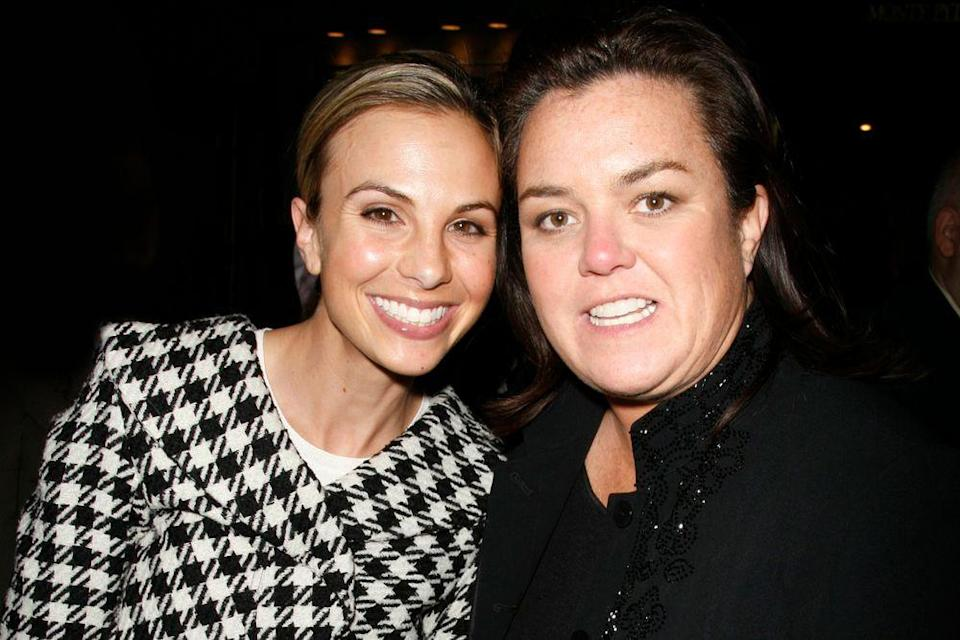 Elsiabeth Hasselback and Rosie O'Donnell | Walter McBride/Corbis via Getty Images
