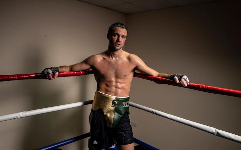 Josh Taylor in the ring -Unbeaten Josh Taylor dreams of fighting 'hero' Manny Pacquiao as Apinun Khongsong title bout approaches - HEATHCLIFF O'MALLEY
