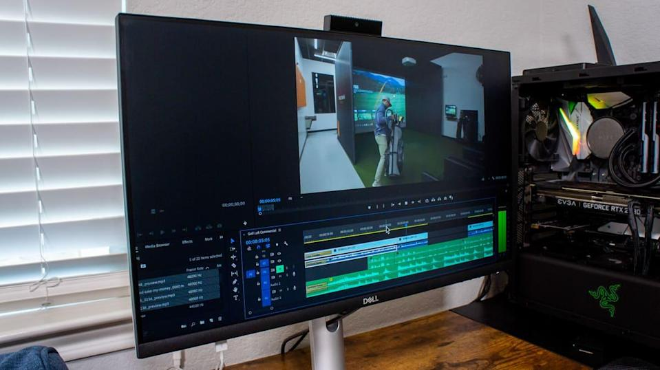 Video editing on dell monitor