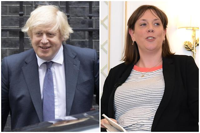 Boris Johnson has been labelled 'a liar' by Jess Phillips over his coronavirus data claims at PMQs. (Getty Images)