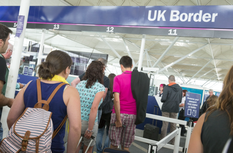 A new immigration system will be in place from Spring 2019 (Rex)