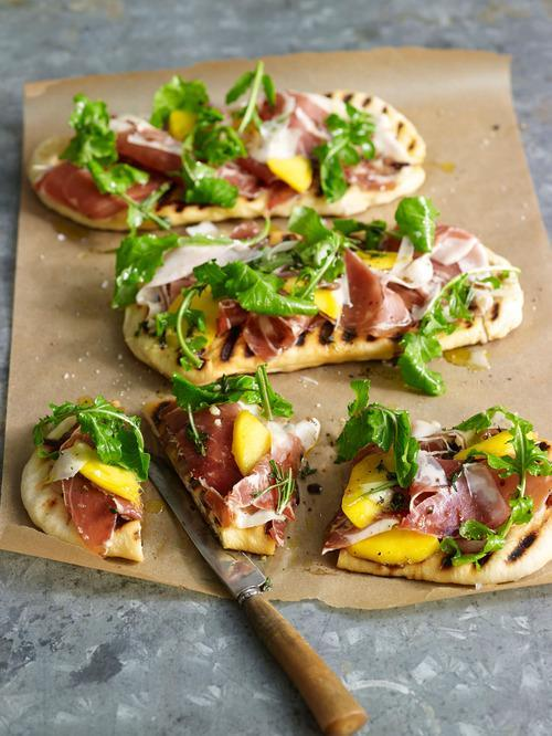 Arugula and Prosciutto Flatbread Recipe from Caribbean Potluck