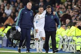 'Hazard'ous injury: Real Madrid star ruled out of Champions League clash with Man City and El Clasico