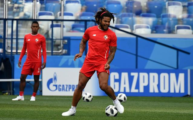 """Panama's manager has denied that leaked England line-up or the sporadic use of video review at the World Cup will give his team an edge when they face the Three Lions on Sunday. """"It doesn't give me or afford me any advantage,"""" Hernan Dario Gomez said after Gareth Southgate's starting XI were accidentally revealed. """"Each and every coach needs to make sure that they are 100 per cent prepared and ready regardless of the opponent, that players work well, know their football, keep up the good work, and from there go for the win."""" Asked about Marcus Rashford being listed ahead of Raheem Sterling, he said """"it doesn't matter who plays because the other one is just as good"""". Notes photographed in assistant manager Steve Holland's hand on Thursday suggested that Rashfort will start instead of Sterling, who drew a blank against Tunisia, and that Ruben Loftus-Cheek will take the place of injured Dele Alli. Regardless of the lineup, England have far more depth than newcomers Panama, who are playing in their first-ever World Cup after they beat Costa Rica with a ghost goal and the United States lost to Trinidad and Tobago. Manager Hernan Dario Gomez, right, and midfielder Edgar Barcenas during a press conference on Saturday Credit: Carlos Barria/Reuters On the other hand, Panama, the oldest squad in Russia, have already lost 0-3 to Belgium and will have the motivation of knowing that their tournament is over if England win. Midfielder Edgar Barcenas, who was seen in tears during a talk last week with the fierce Gomez, admitted the team suffered some """"stage fright"""" during the Belgium match but would try """"to enjoy things because that's the way you play"""". World Cup 2018 Simulator Single Game Although the team are making their debut, their manager has the experience of coaching both Colombia and Ecuador in his four previous World Cups. Gomez has seen his share of adversity: He was Colombia assistant when Andres Escobar was assassinated after an own goal in 1994 and was even shot hims"""