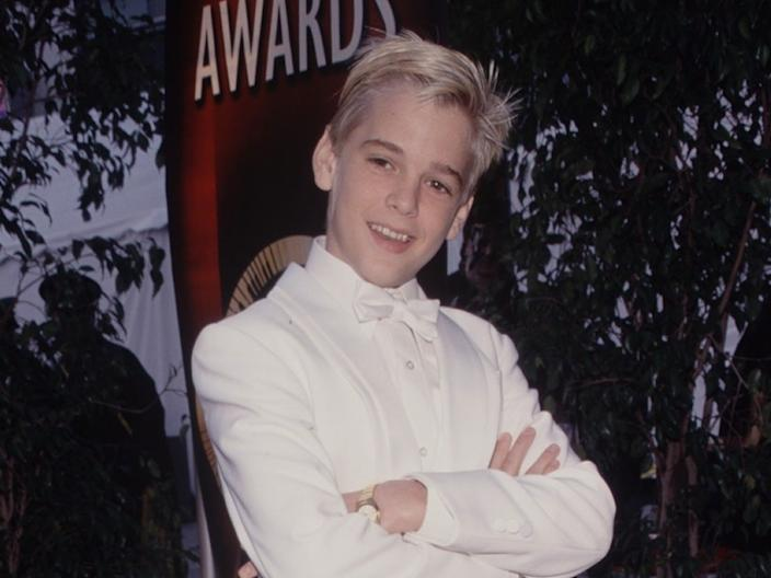 Aaron Carter in the late '90s.