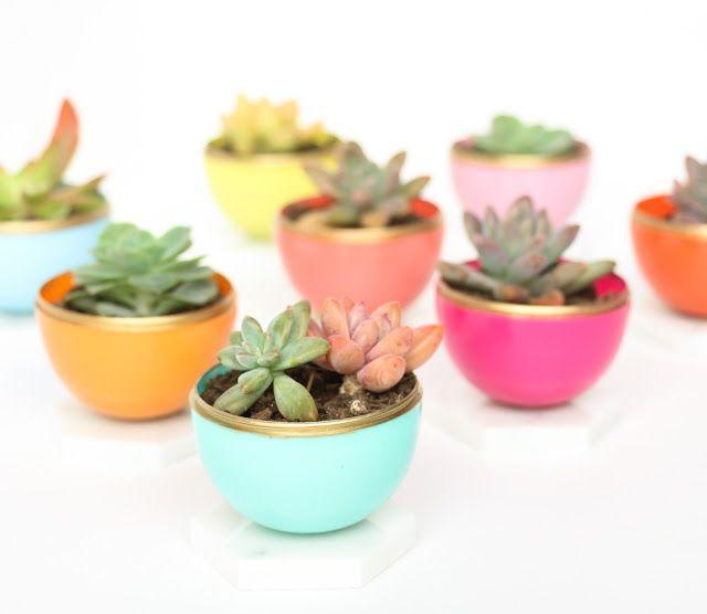 "<p>With a few tweaks, you can repurpose some of those old plastic Easter eggs into a set of succulent planters for Mom. Hexagonal tile makes for the perfect base. </p><p><em><a href=""https://akailochiclife.com/2016/03/craft-it-diy-mini-spring-succulent.html"" rel=""nofollow noopener"" target=""_blank"" data-ylk=""slk:Get the tutorial at A Kailo Chic Life »"" class=""link rapid-noclick-resp"">Get the tutorial at A Kailo Chic Life »</a></em></p>"