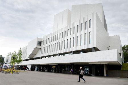 FILE PHOTO: Finlandia Hall is pictured in Helsinki