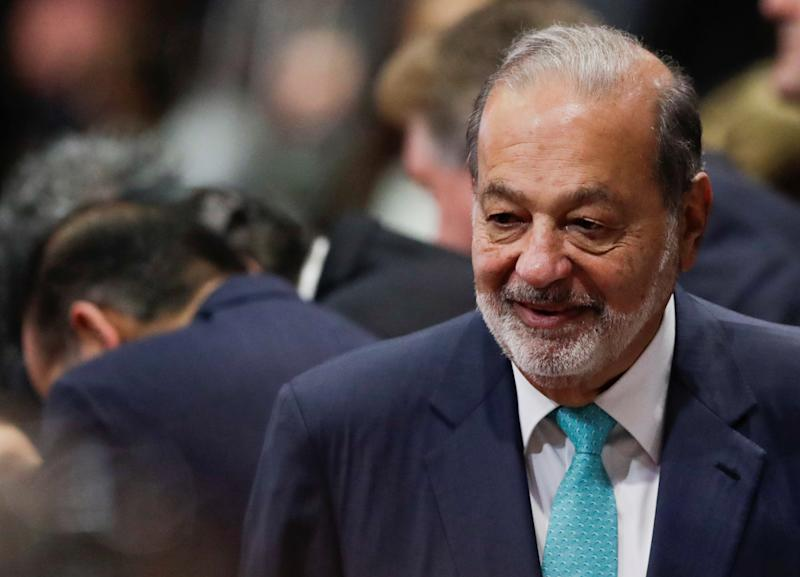Mexican tycoon Carlos Slim arrives for the inauguration of Mexico's new President Andres Manuel Lopez Obrador, at the Congress in Mexico City, Mexico December 1, 2018. REUTERS/Henry Romero