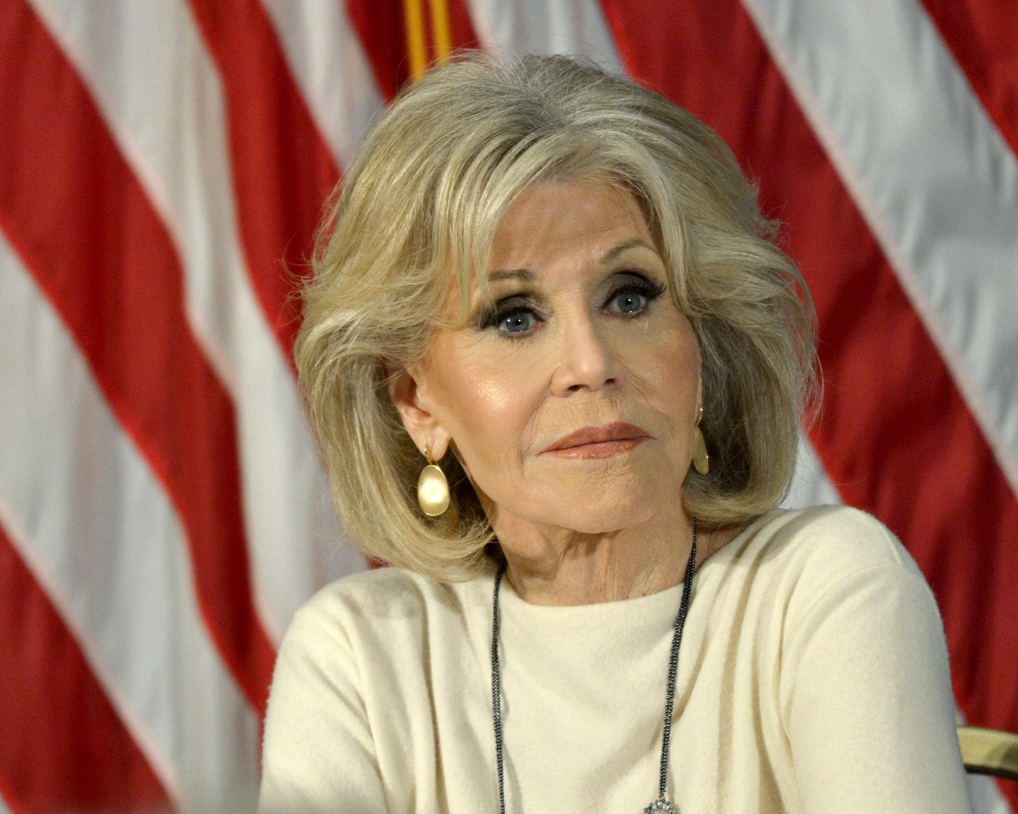 Jane Fonda on why celebrities should back political causes: 'When someone famous takes a stand, people notice'