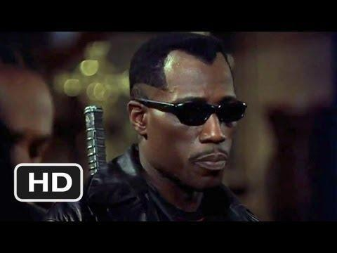 "<p>Based on the Marvel comic superhero of the same name, the 1998 movie saw Wesley Snipes expertly play Blade, a human vampire slayer with the strength of a vampire—but not their weaknesses. The movie led to two sequels.</p><p><a class=""link rapid-noclick-resp"" href=""https://www.amazon.com/Blade-Wesley-Snipes/dp/B0091VZ47S/?tag=syn-yahoo-20&ascsubtag=%5Bartid%7C2139.g.33380025%5Bsrc%7Cyahoo-us"" rel=""nofollow noopener"" target=""_blank"" data-ylk=""slk:Stream it here"">Stream it here</a></p><p><a href=""https://www.youtube.com/watch?v=vAUB7dcUn8o"" rel=""nofollow noopener"" target=""_blank"" data-ylk=""slk:See the original post on Youtube"" class=""link rapid-noclick-resp"">See the original post on Youtube</a></p>"
