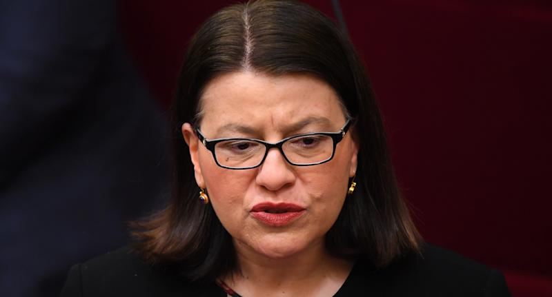 Former Health Minister Jenny Mikakos resigned from her position on Saturday morning. Source: AAP