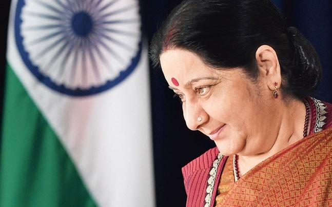 <p>External affairs minister Sushma Swaraj met Delhi's civic body chiefs  and asked them to carry out a quick campaign to spruce up the city for  diplomats who will be attending January's India-ASEAN summit. </p>
