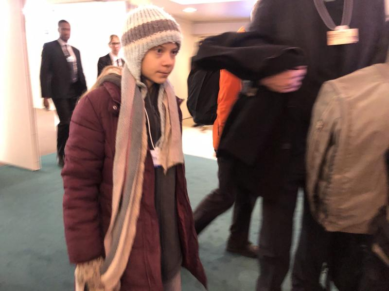 Thunberg tells Davos her climate strike is 'just the beginning'